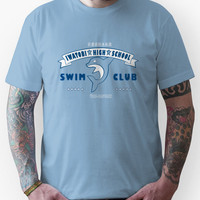 Free! Iwatobi Swim Club Shirt (Haruka, Vice-Captain) light blue Unisex