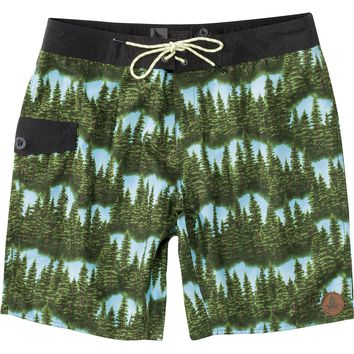 Hippy Tree Treeline Trunk Board Short - Men's Green,