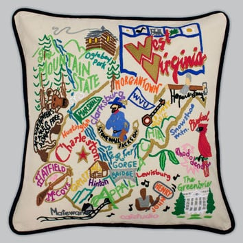 catstudio - West Virginia Pillow
