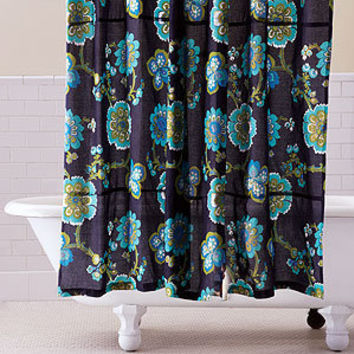 Nila Floral Shower Curtain | Bathroom| Bed & Bath | World Market