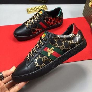 DCCK Gucci Men Fashion Casual Sports Sneakers Shoes