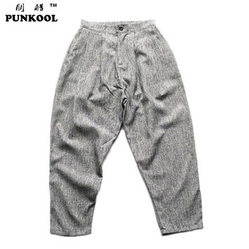 Hot Sale Male Big Trousers Hiphop Low-rise Pants