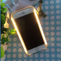 LED Flash  Selfie Hard Lights Case