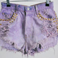 The Holy Purple Shorts from ShopWunderlust