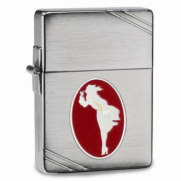 Zippo 1935 Replica Windy Brushed Chrome Collectible Lighter