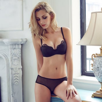 2016 Summer high quality Women Push Up bra set  Underwear Lace bar And Sexy Lingerie lace bra and pants set 32 34 36 38 B C Cup