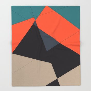 Over the Town Throw Blanket by duckyb