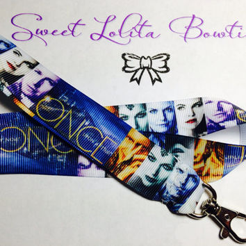Once Upon A Time inspired Lanyard