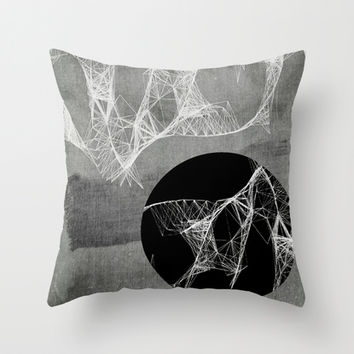 Webbed Throw Pillow by DuckyB (Brandi)