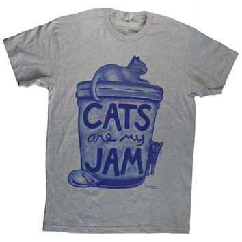 Cats are my Jam Unisex Tshirt