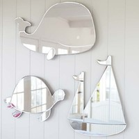 Whale Shaped Mirror