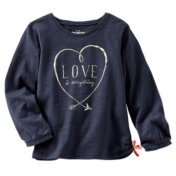 OshKosh B'gosh ''Love Is Everything'' Heart Tee - Girls