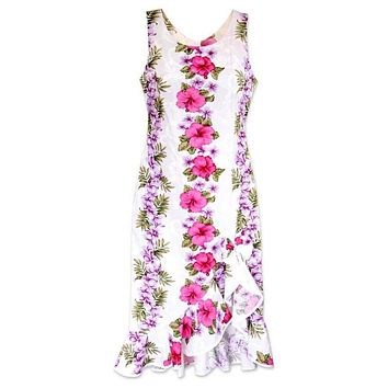 pinkmist hawaiian naniloa dress