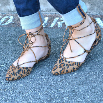 Should I Stay Flats - Leopard