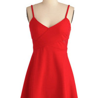 Fun in the Crimson Dress | Mod Retro Vintage Dresses | ModCloth.com