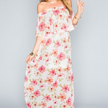 Show Me Your mumu Hacienda Maxi Dress ~ Pink
