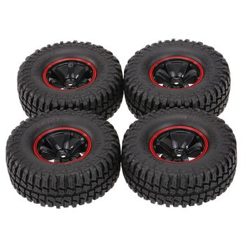 4Pcs for AUSTAR AX-3020C 1.9 Inch 103mm 1/10 Scale Tires with Wheel Rim for 1/10 D90 SCX10 CC01 RC Rock Crawler
