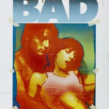 Bad Andy Warhol Movie Poster 11 inch x 17 inch poster