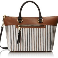 London Fog Thompson Tote Top Handle Bag