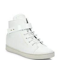 Giuseppe Zanotti - Birel Leather High-Top Sneakers - Saks Fifth Avenue Mobile