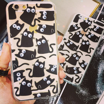 I am a Cat Handmade Case Cover for iPhone 7 7Plus & iPhone 6s 6 Plus + Gift Box