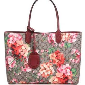 Gucci - GG Blooms Small Reversible Tote