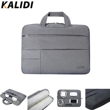 KALIDI Laptop Sleeve 12 13.3 14 15.6 Inch Notebook Bag For Macbook Air Pro 13 15 Laptop Bag 13 15 Inch Dell Asus HP Acer Sleeve