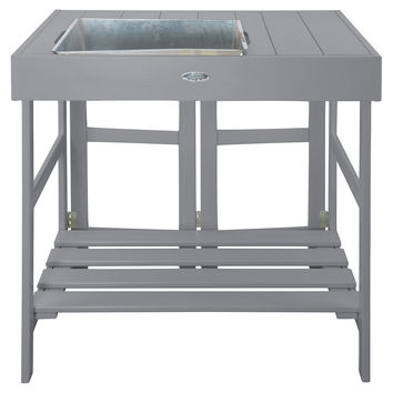 """32"""" Potting Table, Gray, Gardening Tools & Markers"""