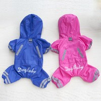 Waterproof Small Dog Raincoat for Dog Clothes Dog Jacket Puppy Outfits Puppy Clothes Chihuahua Clothes for Pets 8DY30