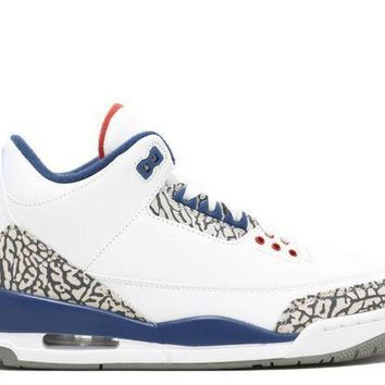 Air Jordan 3 Retro Og True Blue - Beauty Ticks