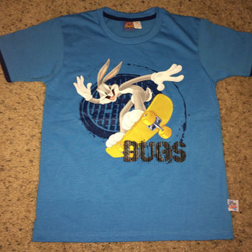 Sale!! Vintage BUGS BUNNY - Looney tunes casual tee shirt