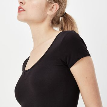 Base Ultimate Stretch T-shirt | black | Women Sale | G-Star RAW®