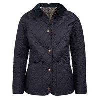 Spring Annandale Quilted Jacket in Navy by Barbour