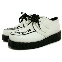 Spy Love Buy CASSIE Flat Lace Up Creeper Platform Pumps