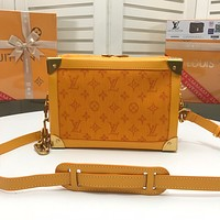LV Louis Vuitton M44723 Women Leather Tote Handbag Shoulder Bag Shopping Bag Messenger Bags