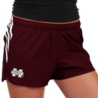 Mississippi State Bulldogs adidas Ladies Ultimate Shorts – Maroon