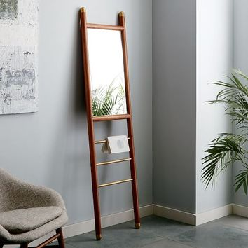 Mid-Century Dowel Mirror - Narrow