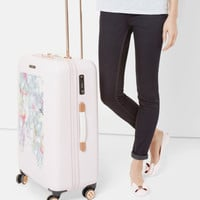 Hanging Gardens medium suitcase - Nude Pink | Bags | Ted Baker ROW