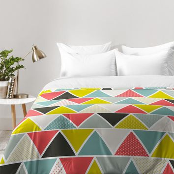 Heather Dutton Triangulum Comforter