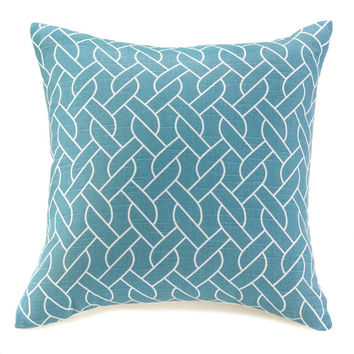 SAILORÕS KNOTS THROW PILLOW