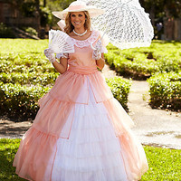 womens peachy southern belle costume