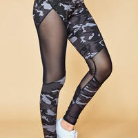 MESH PANEL CAMO ENERGY LEGGING