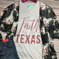 Faith the Size of Texas Graphic Tee