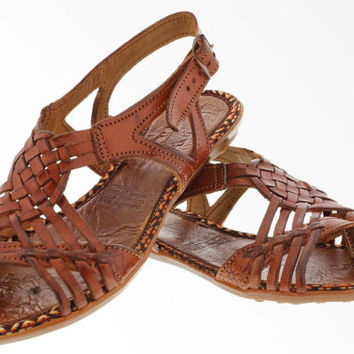 Women's Handmade Genuine Leather Huaraches Mexican Sandals