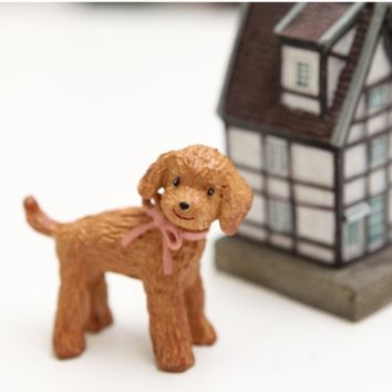 Miniature Dog Figure