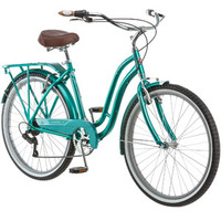 "Walmart: 26"" Schwinn Laurel Women's Cruiser Bike, Green"