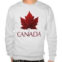 CANADA PULL OVER SWEATSHIRT from Zazzle.com