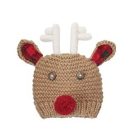MUD PIE MY FIRST REINDEER HAT