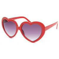 FULL TILT Heart Frame Sunglasses