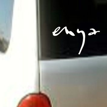 Enya MUSIC BAND VINYL DECAL STICKER CAR TRUCK LAPTOP
